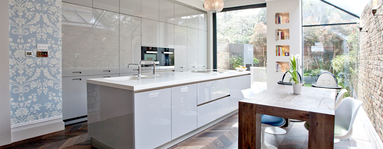 Richmond Full House Refurbishment:  Kitchen by A1 Lofts and Extensions