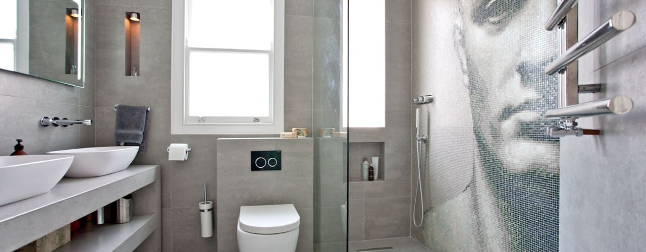 Richmond Full House Refurbishment Modern Banyo A1 Lofts and Extensions Modern