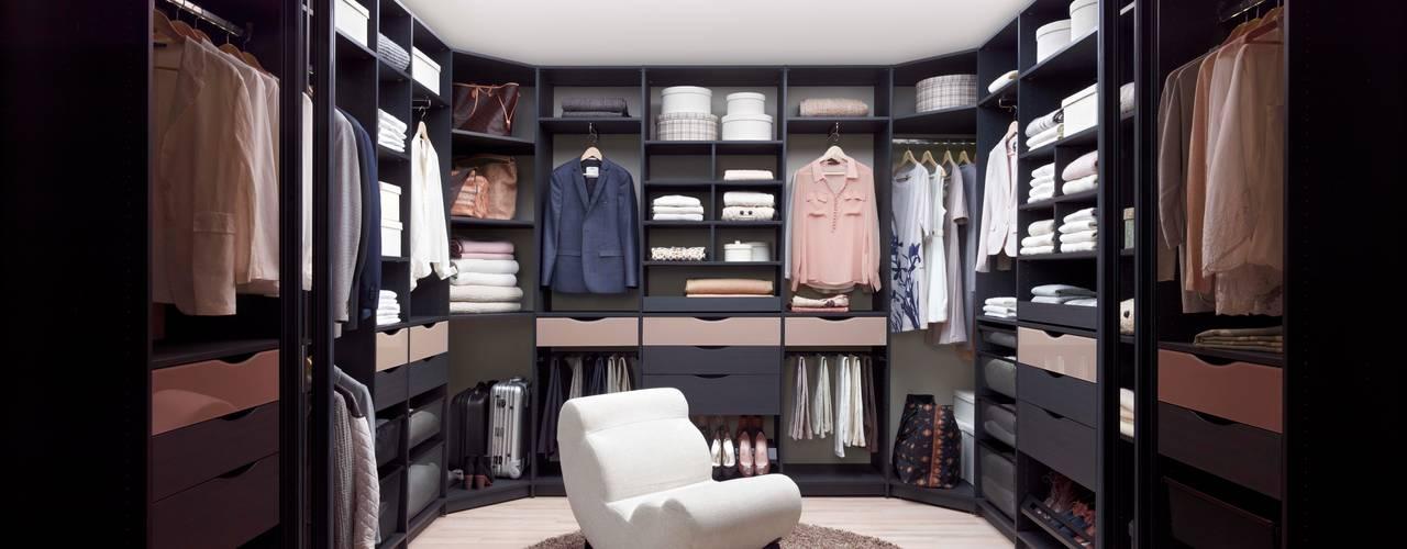 Elfa Deutschland GmbH Dressing roomWardrobes & drawers Komposit Kayu-Plastik Black