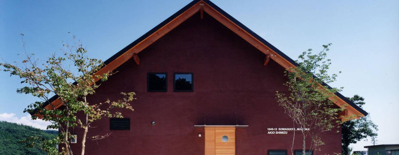 自然体で暮らすvol.1 スタジオ・ベルナ カントリーな 家 木 ブラウン