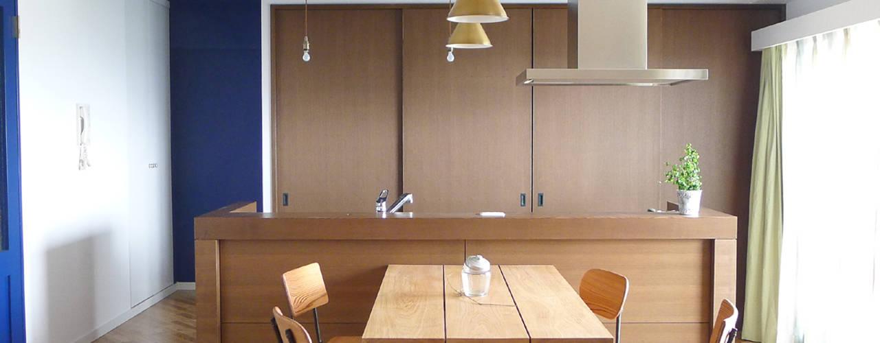 堺市のマンションリノベーション: 株式会社K's建築事務所が手掛けたキッチンです。