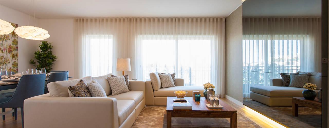 客廳 by Traço Magenta - Design de Interiores