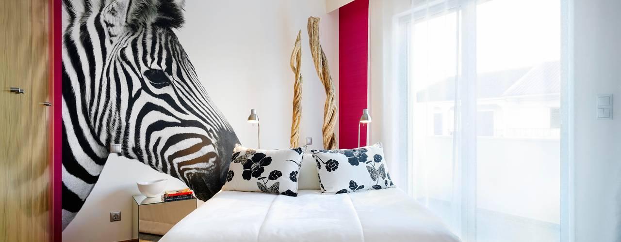 Moradia Estoril/Estoril Residence Quartos modernos por 3L, Arquitectura e Remodelação de Interiores, Lda Moderno