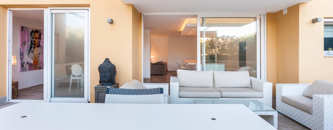 Jardin minimaliste par Construccions i Reformes Miquel Munar SL Minimaliste