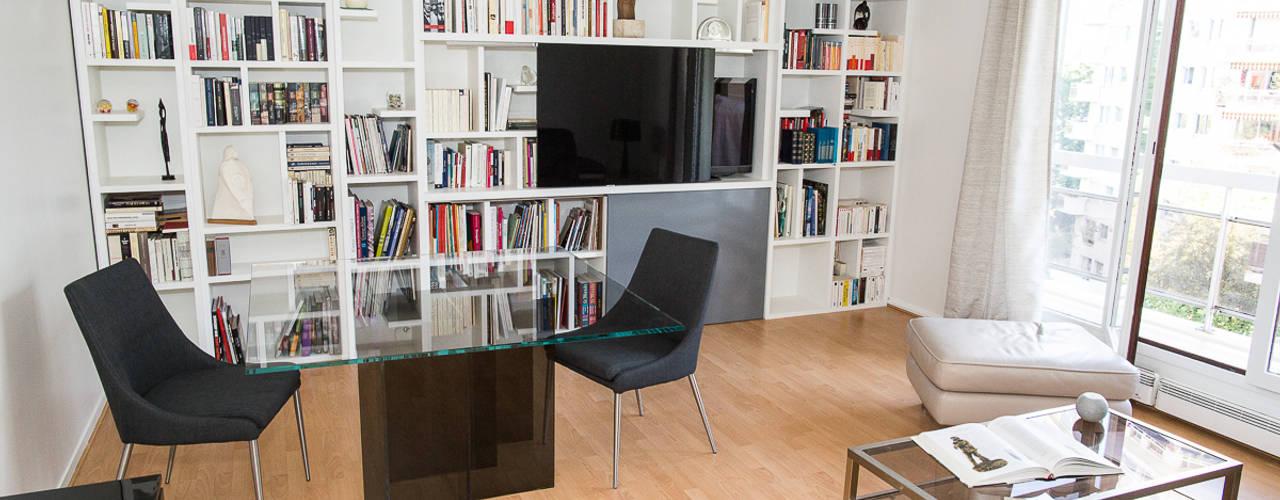 Rénovation d'un appartement à Courbevoie par Nuance d'intérieur