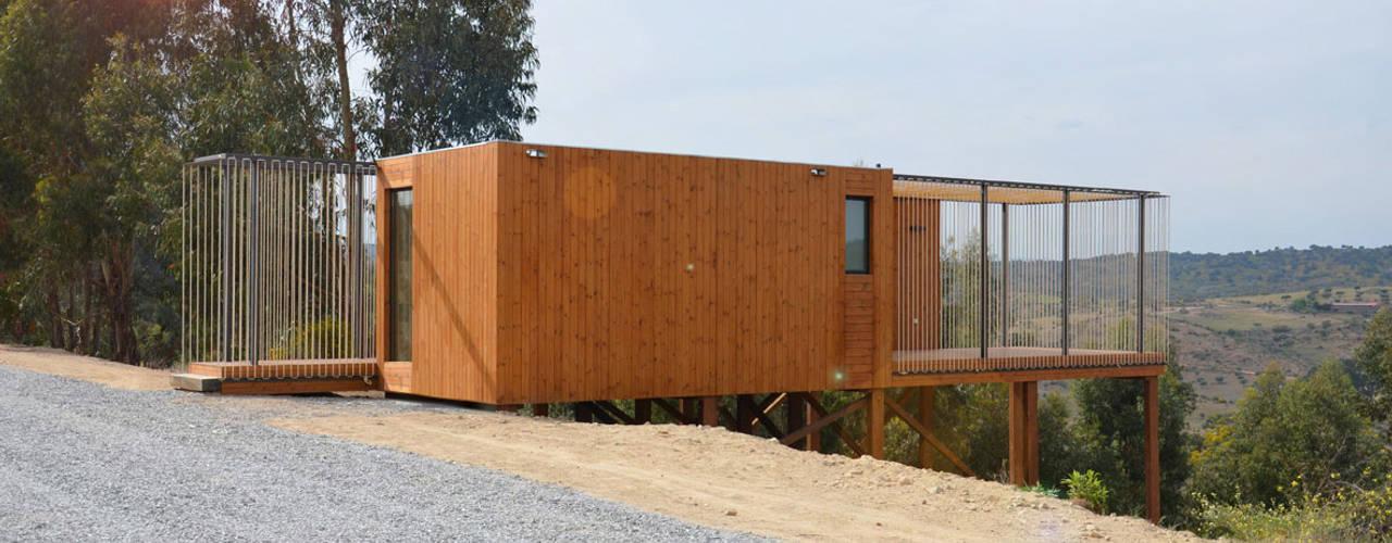 Abrigos da Eira Casas escandinavas por Plano Humano Arquitectos Escandinavo