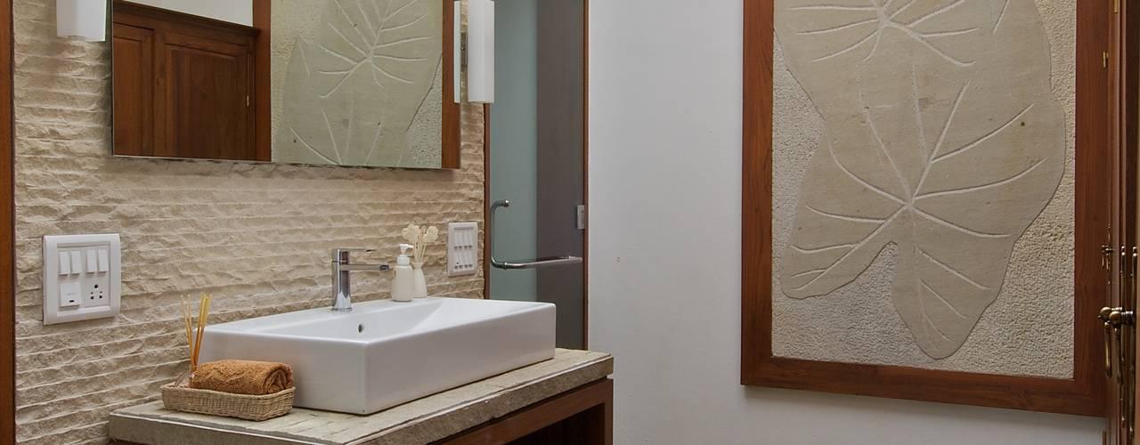 AA Villa: modern Bathroom by Atelier Design N Domain
