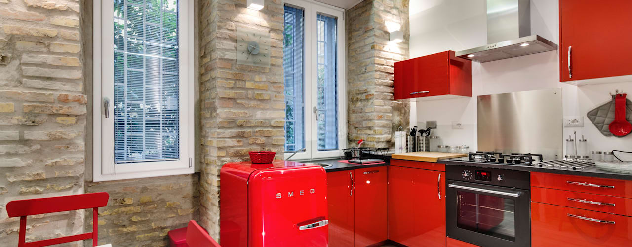 modern Kitchen by architetto raffaele caruso