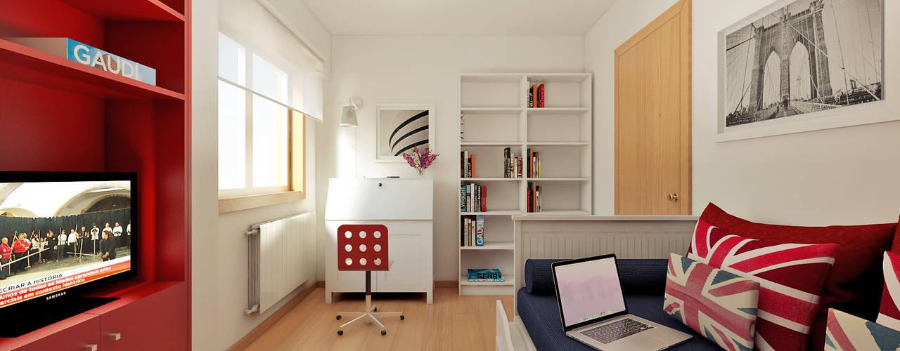Minimalist bedroom by José Tiago Rosa Minimalist