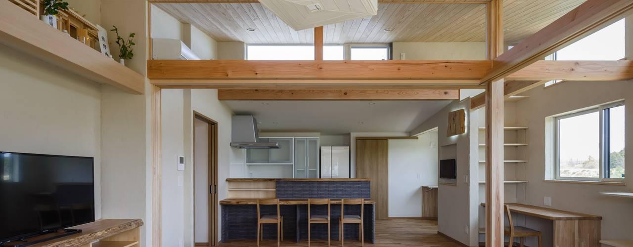 アトリエグローカル一級建築士事務所 Country style dining room
