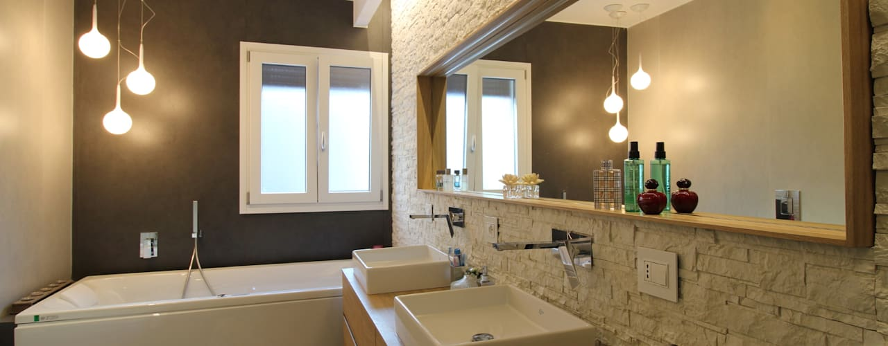 Baños de estilo  por Giuseppe Rappa & Angelo M. Castiglione, Moderno