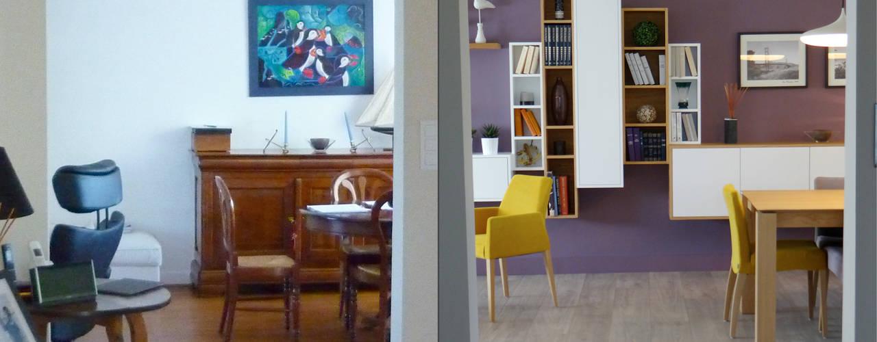 UN INTÉRIEUR RÉINVENTÉ: Salon de style de style Moderne par UN AMOUR DE MAISON