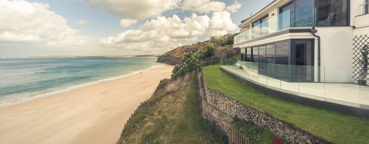The Beach House, Carbis Bay, Cornwall Modern Houses by Laurence Associates Modern