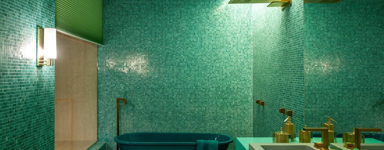 Casa cor 2015 - Acqua que te quero água por Brunete Fraccaroli Arquitetura e Interiores Moderno