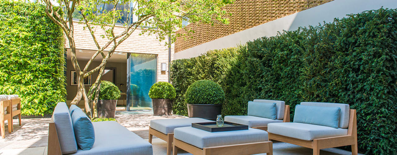 Bedford Gardens House, London Modern style gardens by Nash Baker Architects Ltd Modern