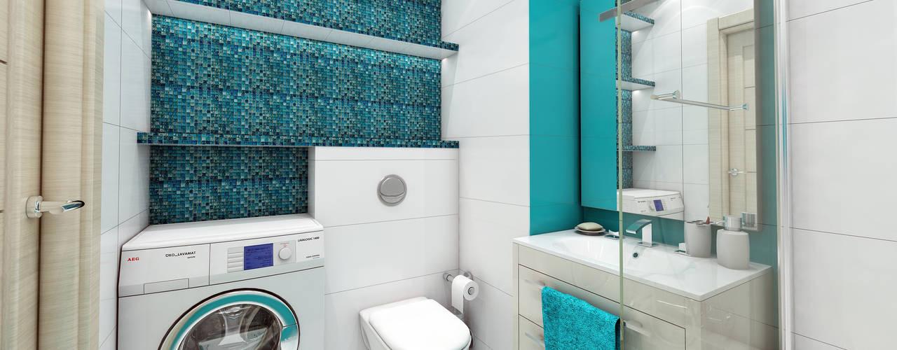 Minimalist style bathroom by Лето Дизайн Minimalist