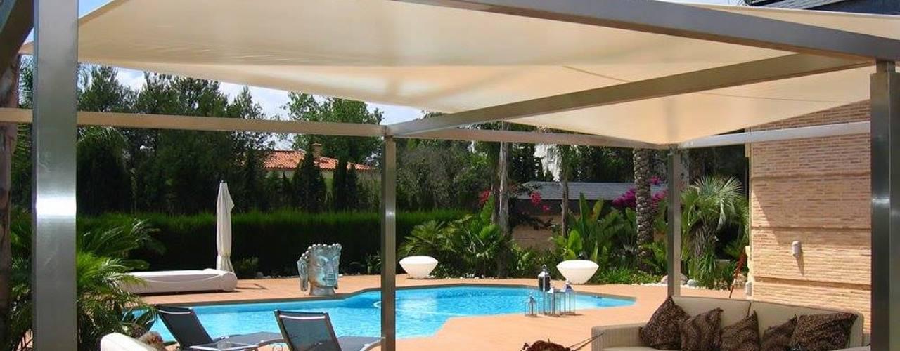 Varandas, marquises e terraços modernos por JS ARQUITECTURA Moderno