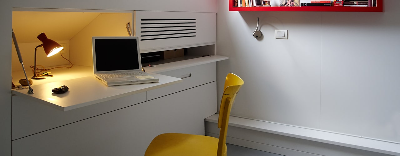 in&outsidesign Modern Study Room and Home Office
