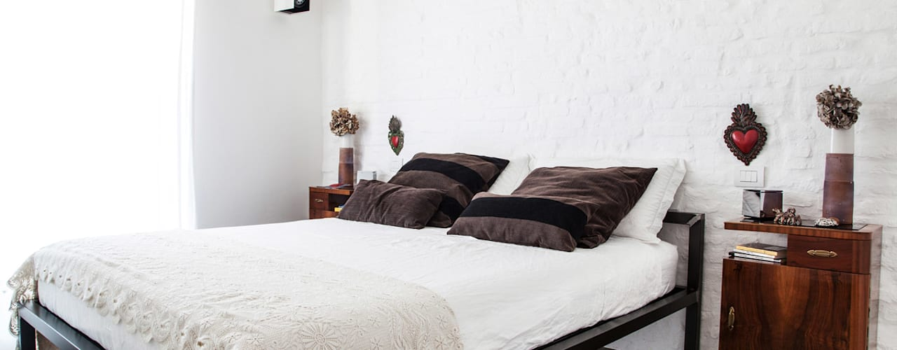 Kamar Tidur oleh Ossigeno Architettura, Mediteran