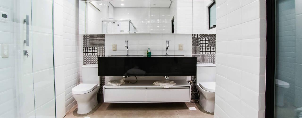 Minimalistyczna łazienka od cunha² arquitetura Minimalistyczny