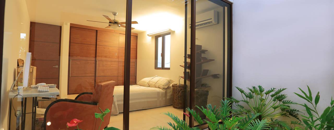 FGO Arquitectura Jardines de estilo tropical Blanco