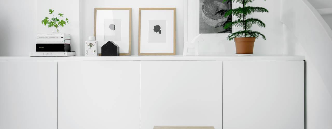 Woonhuis   Delft Design Studio Nu Scandinavische woonkamers Wit