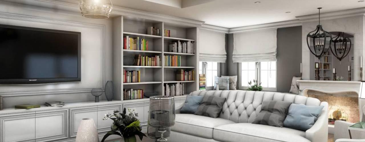 Yunus Emre | Interior Design Soggiorno moderno di VERO CONCEPT MİMARLIK Moderno