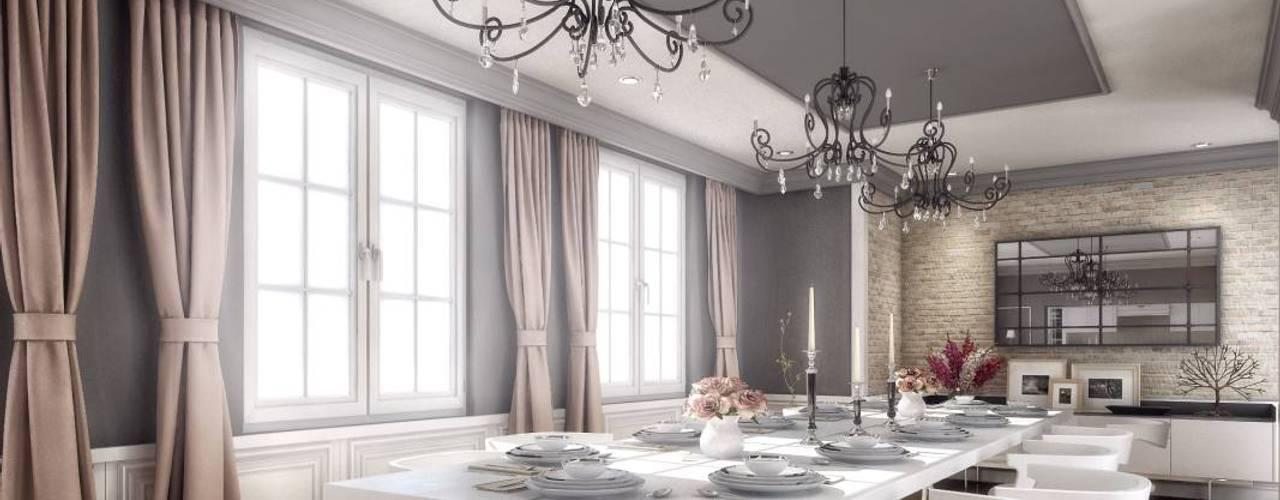 Yunus Emre | Interior Design VERO CONCEPT MİMARLIK Salas de jantar modernas