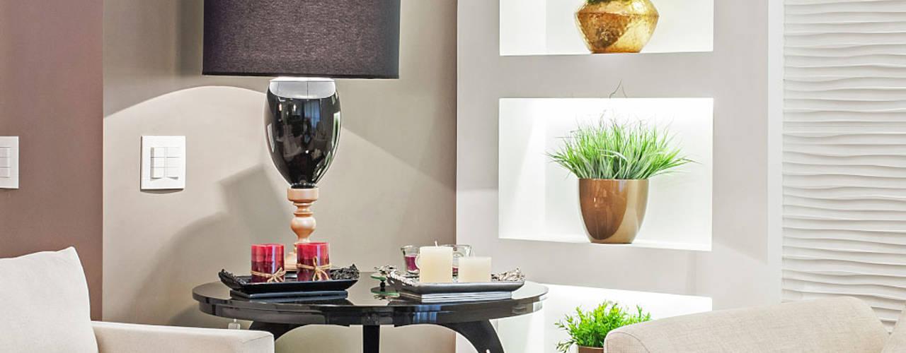 Patrícia Azoni Arquitetura + Arte & Design Modern living room