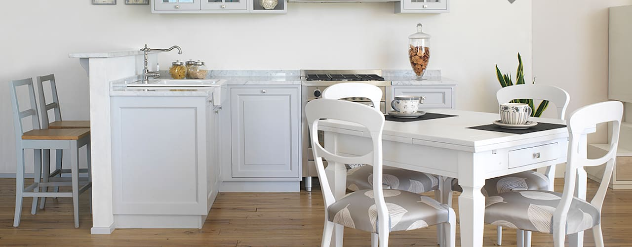 Projekty,  Kuchnia zaprojektowane przez LA BOTTEGA DEL FALEGNAME