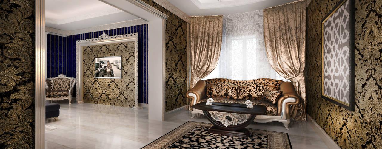 Mansion: Спальни в . Автор – Студия Маликова, Классический