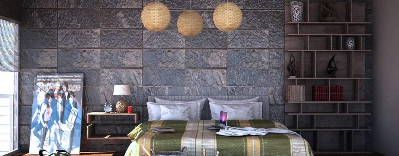 Proyectos Interiorismo Dormitorios modernos de Seven Arquitectos Moderno