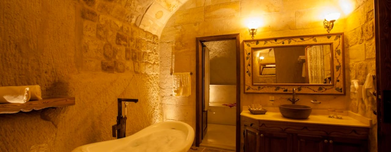 Bathroom by Kayakapi Premium Caves - Cappadocia
