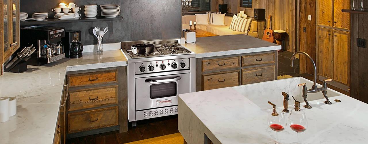 Cocina semi industrial Patagon Chef W30 estilo rústico:  de estilo  por Patagon Chef