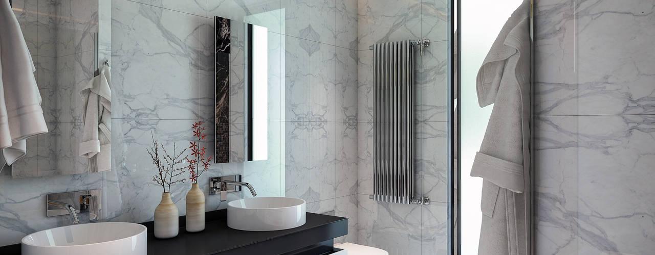BUUN MOTTO ARCHITECTS Modern Bathroom
