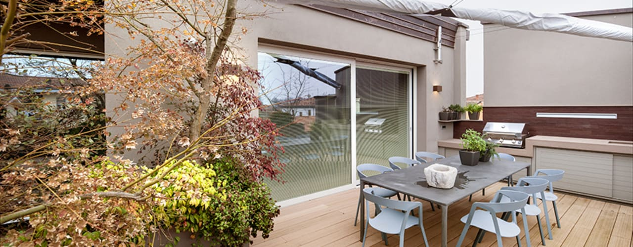 BRANDO concept Balconies, verandas & terraces Furniture