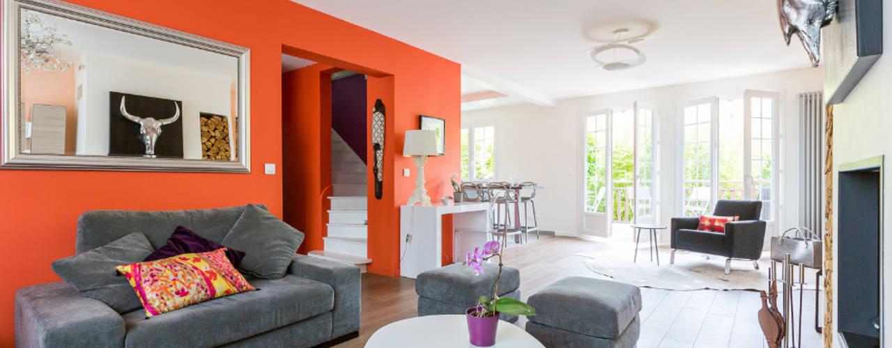 Modern living room by Katia Rocchia Home Designer Modern