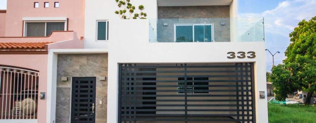 Modern houses by Cenit Arquitectos Modern