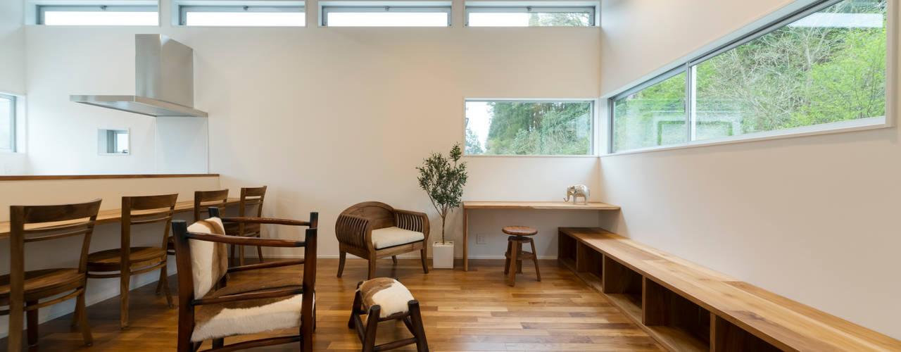 Air Living®「眺める森の家」: フォーレストデザイン一級建築士事務所が手掛けたです。