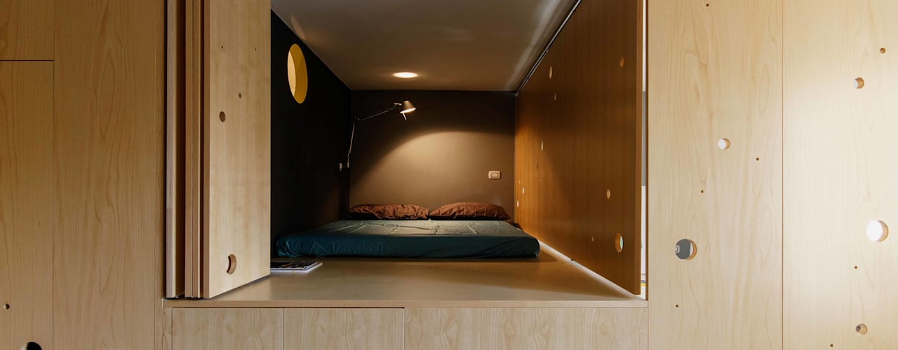 Bedroom by PLANAIR ®, Modern