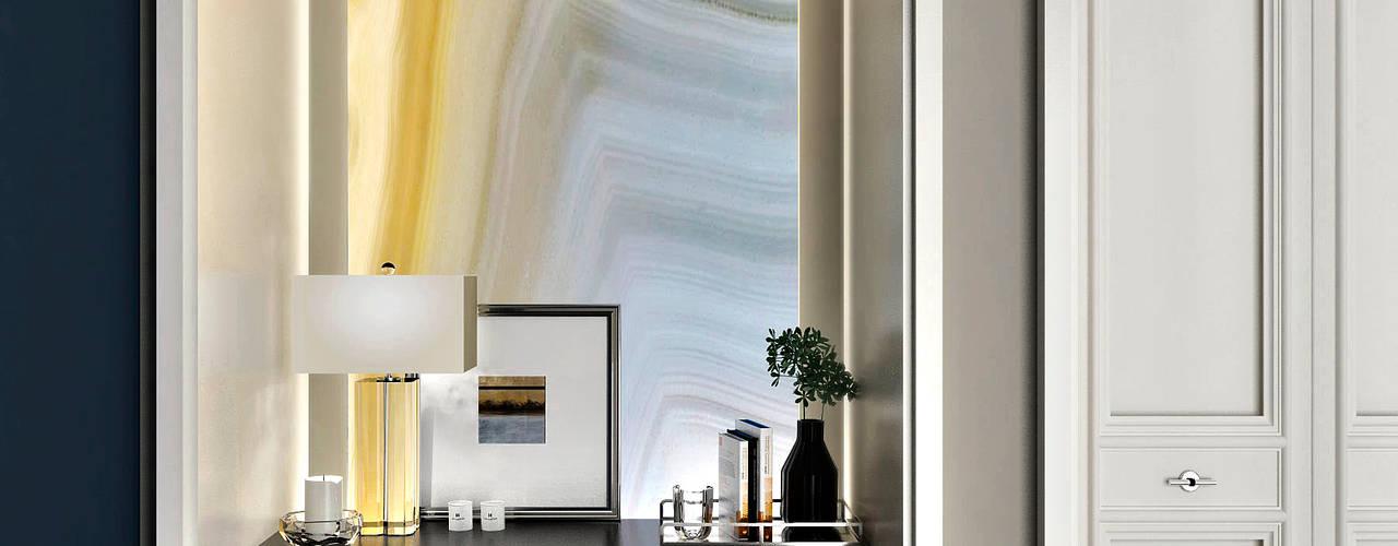 APARTMENT/3 Коридор, прихожая и лестница в классическом стиле от ONE STUDIO Классический