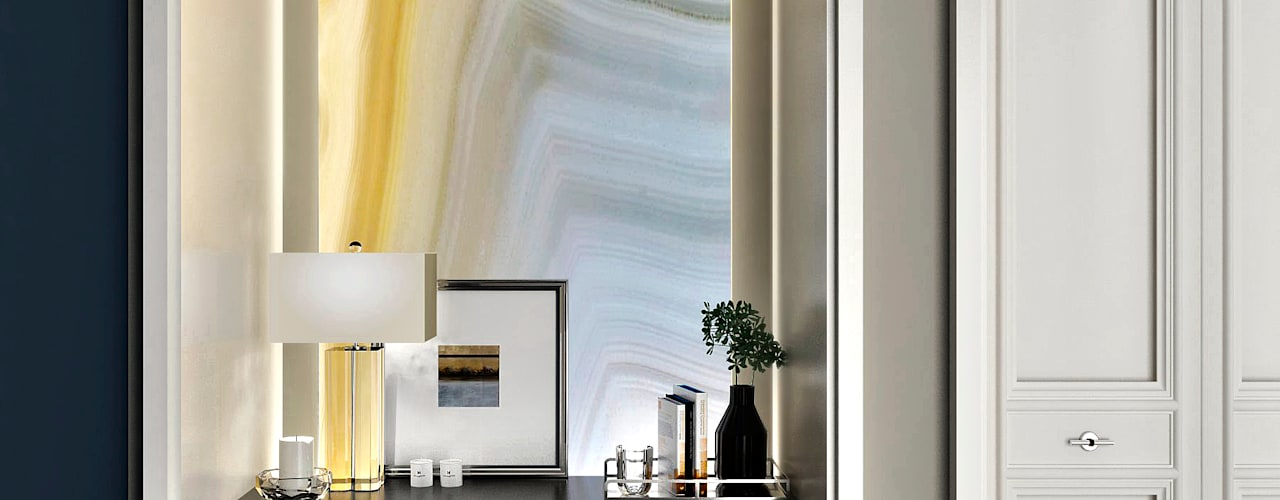 APARTMENT/3 ONE STUDIO Коридор, прихожая и лестница в классическом стиле