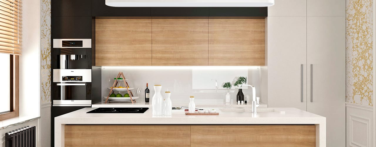 Classic style kitchen by ONE STUDIO Classic