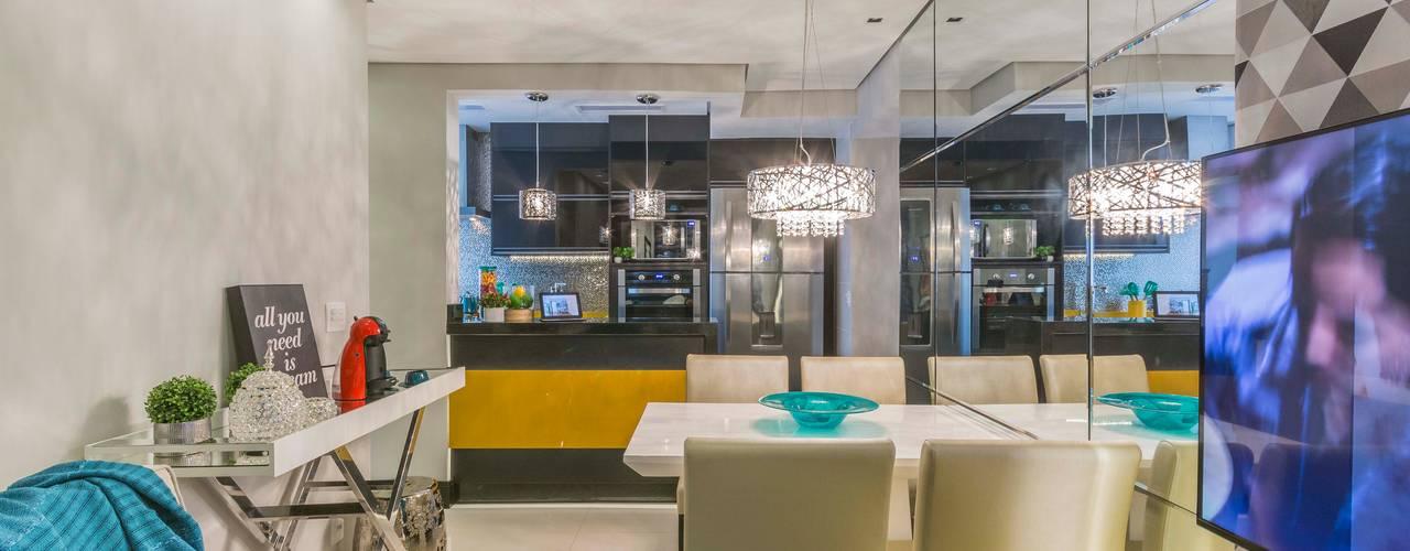 Apartamento de 40 metros quadrados.: Salas de estar  por Lo. interiores