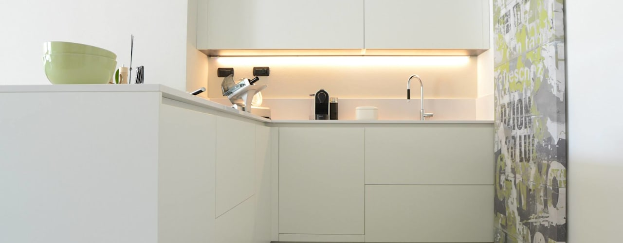modern Kitchen by LTAB/LAB STUDIO
