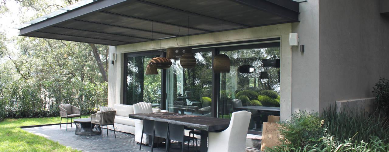 Balcones y terrazas de estilo moderno de Windlock - soluciones sustentables Moderno
