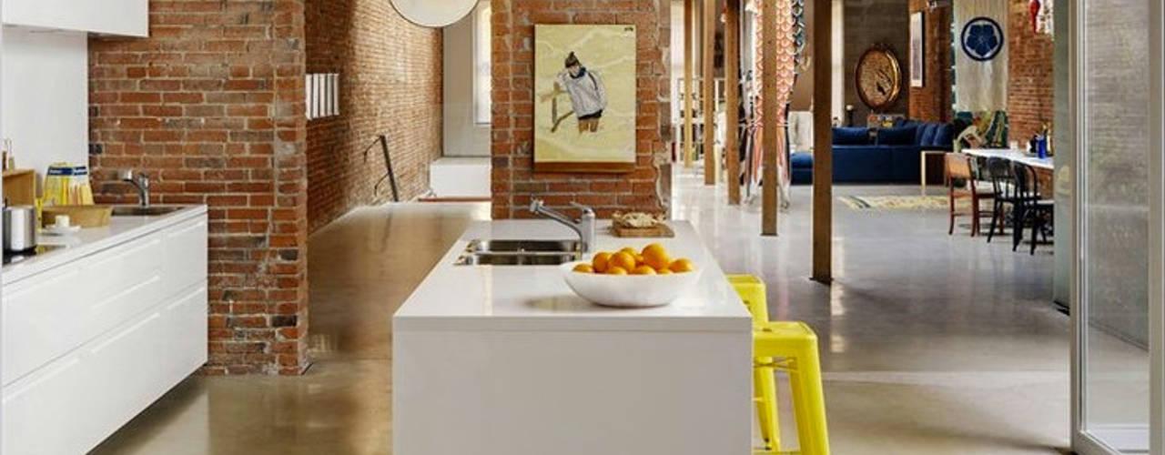 Cozinhas modernas por Eurekaa Moderno