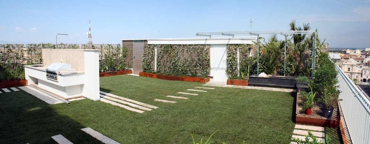 de Febo Garden landscape designers Moderno