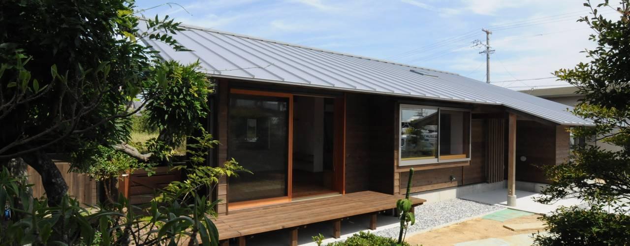 湖西の平屋 オリジナルな 家 の 加藤武志建築設計室 オリジナル