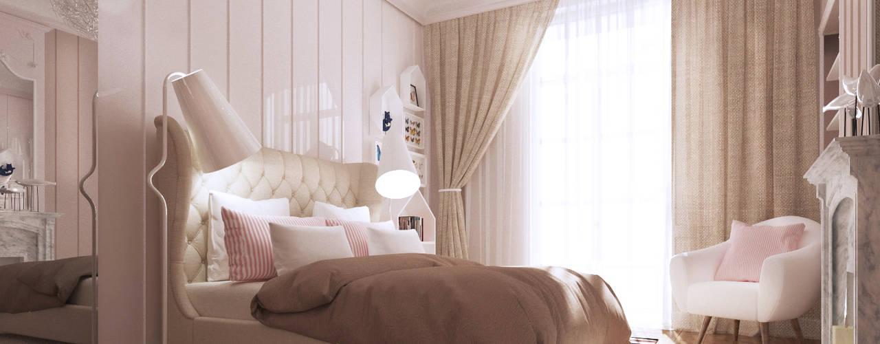ZR-architects Dormitorios infantiles de estilo mediterráneo